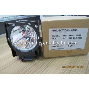 Venta caliente poa-lmp29 sanyo proyector de la lámpara para plc-xf20