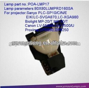 مصباح ضوئي لسانيو poa-lmp17 مع نوعية ممتازة