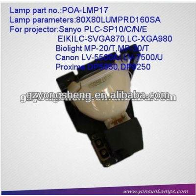Projektorlampe für sanyo poa-lmp17 mit hervorragender qualität