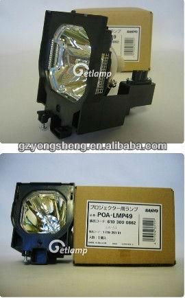 Poa-lmp49 lámpara del proyector de sanyo con una excelente calidad