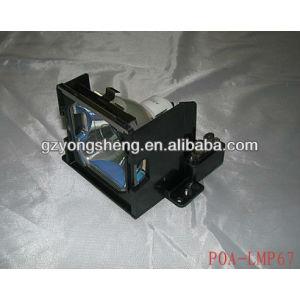 Poa-lmp67 lámpara del proyector de sanyo con un excelente rendimiento