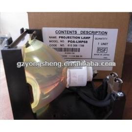 Poa-lmp68 lámpara del proyector de sanyo con un excelente rendimiento