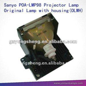 Poa-lmp98 original lámpara del proyector para sanyoplv- 80/plv-80l
