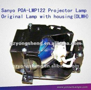 مصباح بروجيكتور SANYO الأصلي POA-LMP122 لSANYO PLC-XW57