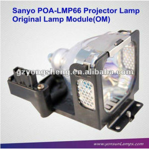 Original lámpara de proyector lcd poa-lmp65 para sanyo