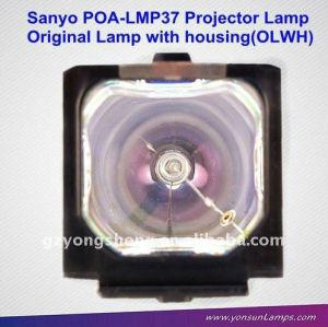الأصلي مصباح بروجيكتور سانيو poa-lmp37 plc-sw20a لبروجكتور سانيو