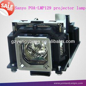 سانيو مصباح بروجيكتور تناسب poa-lmp129 plc-xw65/ lc-xd25 eiki بروجكتور