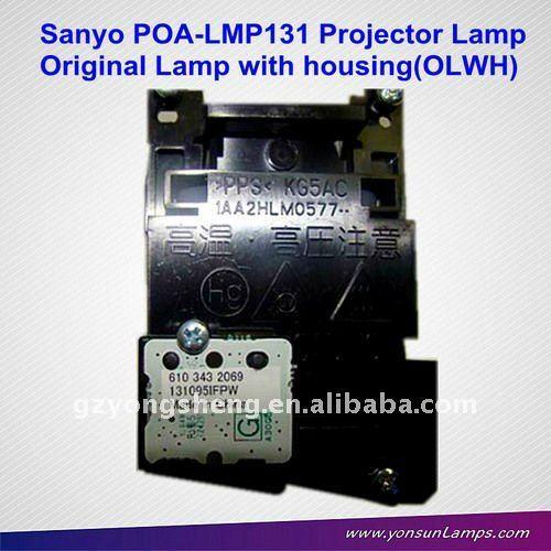 De la lámpara original con la vivienda para sanyo poa-lmp131