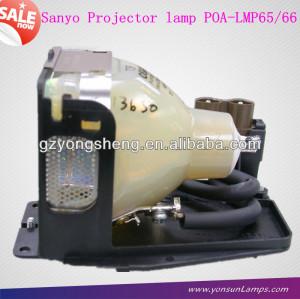 مصباح ضوئي سانيو poa-lmp65، المصباح مع السكن الأصلي