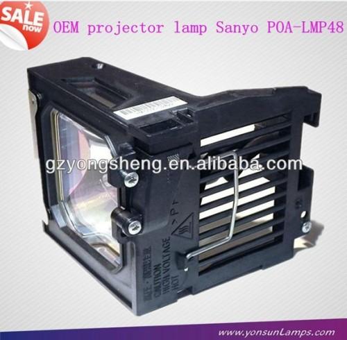 الأصلي مصباح بروجيكتور لسانيو poa-lmp48 لتناسب plc-xt10/ k، plc-xt15/ k، lc-xg100، lc-xg200