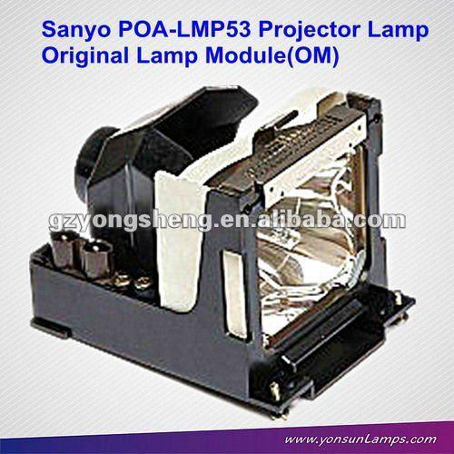 استبدال وحدة المصباح poa-lmp53 للحصول على مصباح ضوئي سانيو