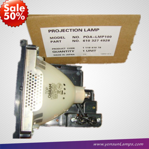 ف-- vip300w 1. 3 p2 2. 5 poa-lmp100 الأصلي مصباح بروجيكتور سانيو