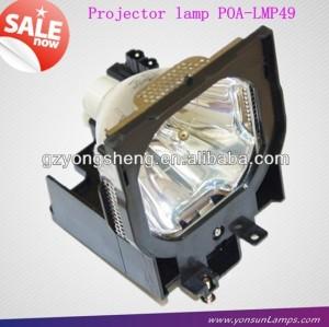 مصباح ضوئي سانيو poa-lmp49 لتناسب plc-uf15/ plc-xf42/ plc-xf4200c