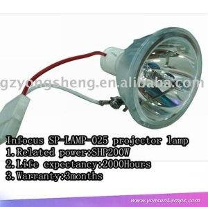 For Infocus SP-LAMP-025 SHP300W 2000 hours projector bare bulbs