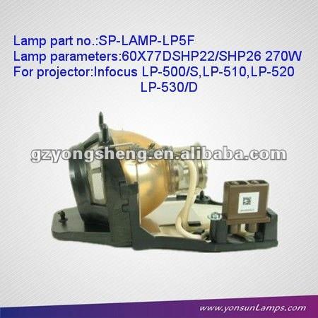 مصباح بروجيكتور مع السكن / مصباح الزئبق SP-LAMP-LP تحت المجهر لLP5F-520