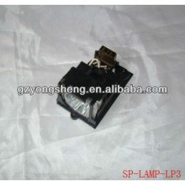 Sp- de la lámpara- lp3 lámpara del proyector infocus para con un rendimiento estable