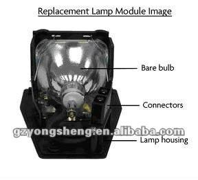Originale lampada del proiettore con custodia per tlplx45 tdp-sx3500 toshiba