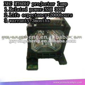For brand quanlity NEC MT60LP NSH 300W projector lamp