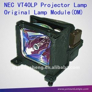Vt40lp projektorlampe für nec vt440/k, vt450 projektor-lampen leuchtmittel