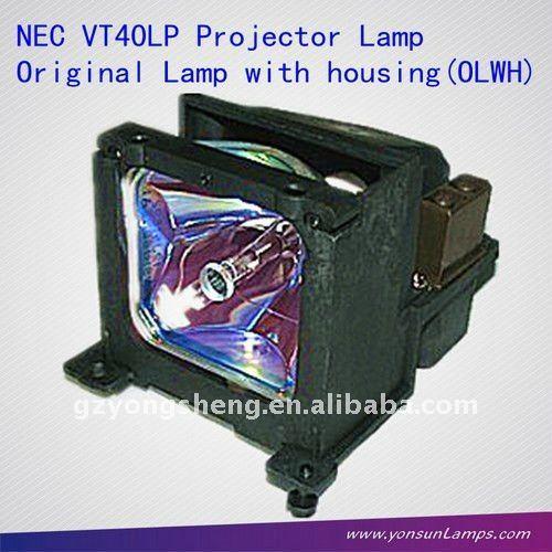 nec مصباح ضوئي متوافق مع nec vt40lp vt440/ vt450 الإسقاط