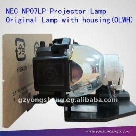 Np07lp nec proyector de la lámpara, la bombilla del proyector nec np07lp