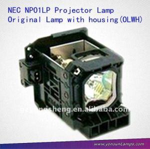 Ang np01lp projektorlampe für nec np1000, np2000/+ projektor