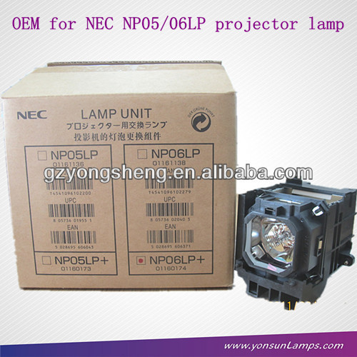 مصباح ضوئي لnec np06lp np3150 الإسقاط