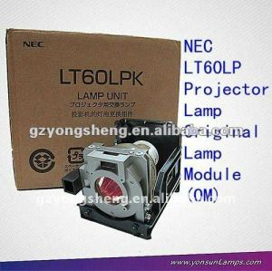 LT60LP NEC projector lamp original or replacement