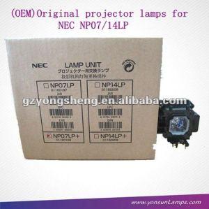 مصباح ضوئي nec الأصلي np300 np07lp