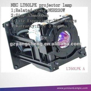 für original projektorlampe lt60lp nsh220w