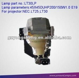 Dlp projektor lampe lt30lp uhp200/e19 150w