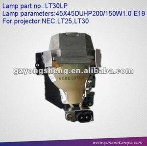 Ersatz projektorlampe ang lt30lp, nec dlp projektor lampe