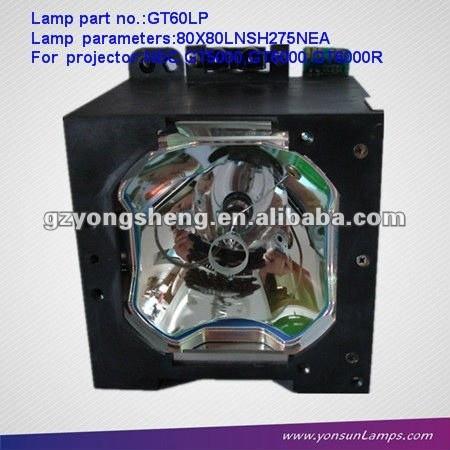 Projektor lampe für gt60lp verwendet gt5000/gt6000