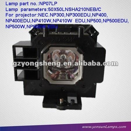 Np07lp projektorlampe mit gehäuse fit NP300/np400/np410w projektoren