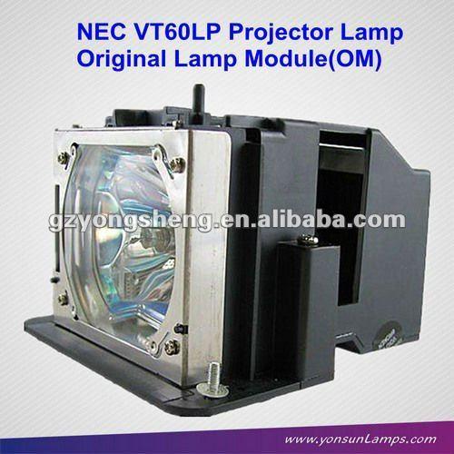 مصباح ضوئي nec vt60lp vt46، vt460/ k، vt465، vt560، vt660/ k، vt475