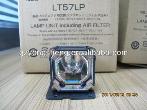 Original lampe lt57lp( om) für nec. Lt154, lt155, lt156, lt157, lt158