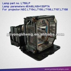 مصباح ضوئي nec lt55lp lt154/ lt155/ lt156/ lt157/ lt158 nec البروجيكتور