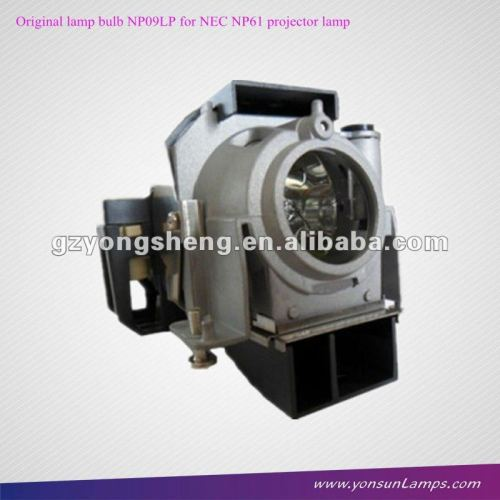 original lampe np09lp für nec np61 projektorlampe