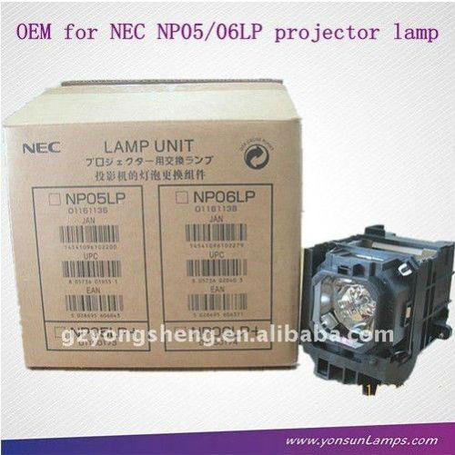 Np05lp nec projektor lampe passen für nec vt700, vt800, np905, np901
