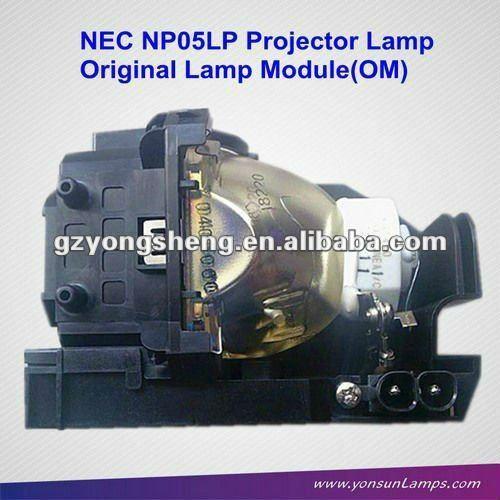 الأصلي المصابيح ضوئي للإسقاط np05lp