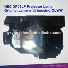 lámpara del proyector original con la vivienda nec nec np05lp proyector bombilla de la lámpara del proyector