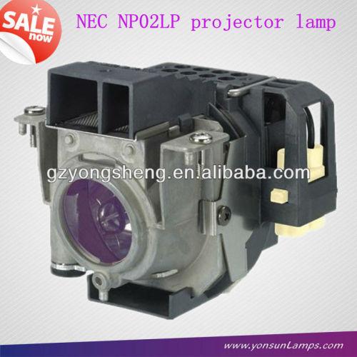 projektorlampe ang np02lp lampe