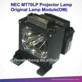 mt70lp nec proyector de la lámpara con la vivienda