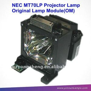 MT70LP NEC projector lamp with housing