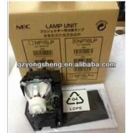 nec proyector de la lámpara con la vivienda de nec np16lp bombilla del proyector