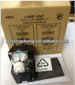nec مصباح بروجيكتور مع السكن مصباح ضوئي من nec np16lp