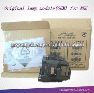 Vt75lp ang projektorlampe für nec vt470/vt670/lt280 projektor