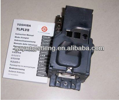 مصابيح بروجكتور توشيبا tlp-lv8 مع أداء مستقر