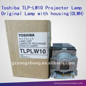 Original projektorlampe tlp-lw10 shp90 für toshiba tdp-t99u