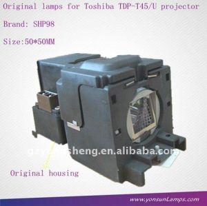Bulbo proiettore per tdp-t45 tlp-lv8 toshiba lampada del proiettore